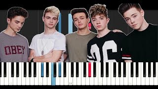 Why Don't We - Trust Fund Baby (Piano Tutorial)