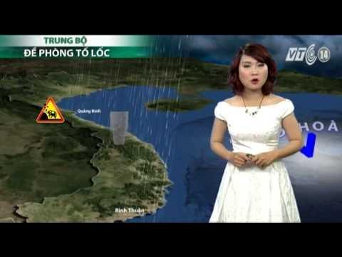 VTC14_Thời tiết Tổng hợp ngày 09.09.2013
