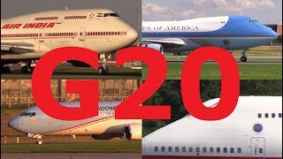 Video ᴴᴰ ✈ G20 - Planes! PRESIDENTIAL & Government Aircraft MP3, 3GP, MP4, WEBM, AVI, FLV Juni 2019