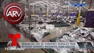 Denuncian uso de EXAMENES DENTALES para retener MENORES MIGRANTES | Al Rojo Vivo