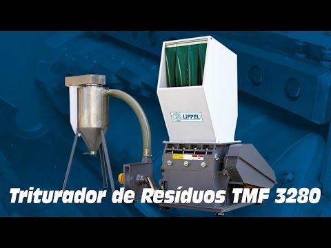 Triturador de Resíduos TMF 3280 E - Triturando Uniformes Industriais