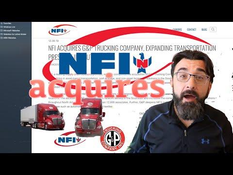 NFI Acquires G&P Trucking, Trucker Jim's Reaction