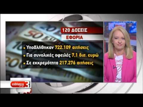 Πάνω από 11 εκατ. οφειλές προς Εφορία-Ταμεία στη ρύθμιση των 120 δόσεων | 08/10/19 | ΕΡΤ