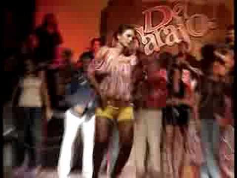 Baile de turista COLOMBIANA en Del Carajo!