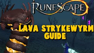 Lava Strykewyrm Slayer Guide - Xp Rates - iAm Naveed Runescape 2015