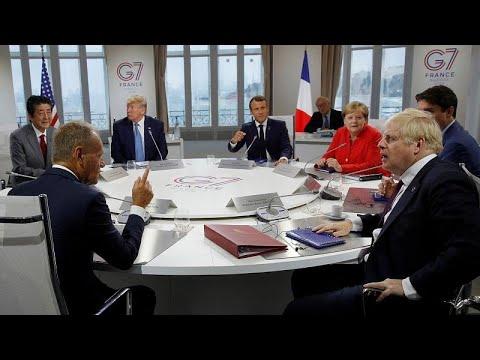 G7: Ιράν και Ρωσία στο μενού των ηγετών