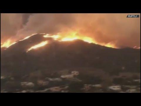Τουλάχιστον οι 9 νεκροί από την πυρκαγιά στη βόρεια Καλιφόρνια