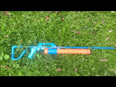 How to make Powerful sniper alcohol gun