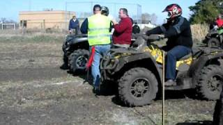 8. Can-am Outlander 650 vs Kawi 650