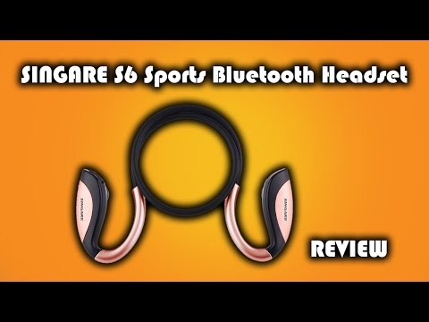 SINGARE S6 Sports Bluetooth Wireless Headphones Review