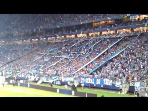 Geral na Arena - Arena do Grêmio espetacular - Geral do Grêmio - Grêmio
