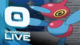 Pokemon OR/AS! OU Showdown Live w/PokeaimMD, Chimpact & Gator! NORMAL THREATS! by PokeaimMD