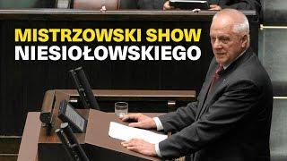 Mistrzowski SHOW Stefana Niesiołowskiego :)))