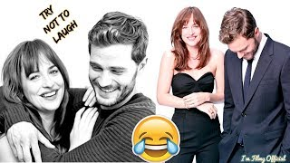 Video Fifty Shades Freed Bloopers and Funny Moments(Part-2) - Try Not To Laugh MP3, 3GP, MP4, WEBM, AVI, FLV Juli 2018