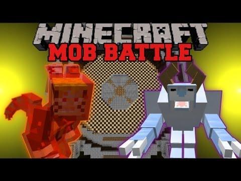 Snow Beast Vs. Kyuubi – Minecraft Mob battles – Arena Battle – Legendary Beasts Ore Spawn Mods