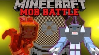 Snow Beast Vs. Kyuubi - Minecraft Mob battles - Arena Battle - Legendary Beasts Ore Spawn Mods