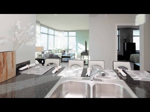 Tour a Fulton River District corner 1-bedroom model at Alta