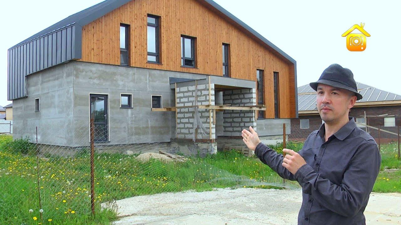 Смотреть онлайн: Как за каменной стеной: необычный и функциональный проект дома // FORUMHOUSE