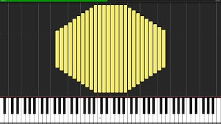 Moonlight Sonata (Complete) [Piano Tutorial] (Synthesia)