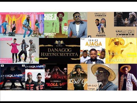 African modern dance music (best of; 1 - 8)