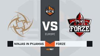 NiP vs forZe, game 1