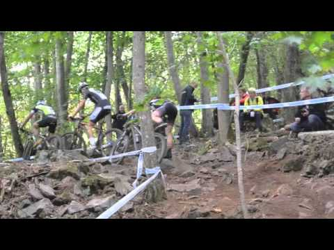 Men Elite race at Hafjell MTB Worldcup 2013