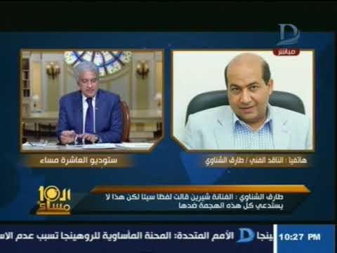 طارق الشناوي: ما قالته شيرين سخافة والقانون لا يجرم ذلك