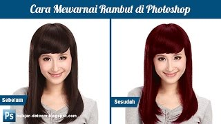 Video Cara Mewarnai Rambut dengan Cepat di Photoshop MP3, 3GP, MP4, WEBM, AVI, FLV Mei 2019