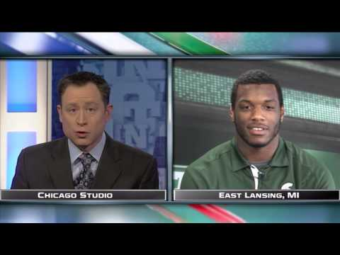Shilique Calhoun Interview 12/2/2013 video.