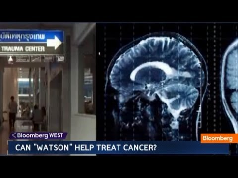 watson - May 23 (Bloomberg) -- Bloomberg Television looks at the potential medical uses for IBM's