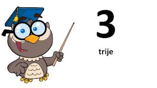 Learn West Frisian # From 0 to 9