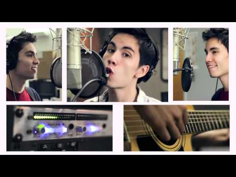 love the way you lie cover - SUBSCRIBE! I promise, it's fun :1 http://bit.ly/SubscribeKHS Sam Tsui singing, Kurt Schneider producing a fun mashup of