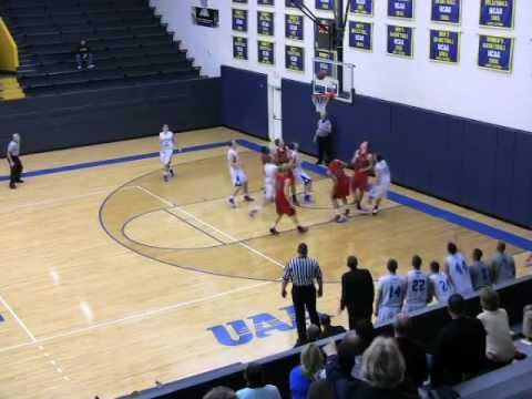Frankie Wiseley's Buzzer Beater for the Win Against St. Lawrence
