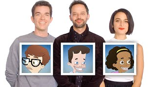 "Video John Mulaney, Nick Kroll, and Jenny Slate Recap ""Big Mouth"" Season 1 in 10 Minutes   Vanity Fair MP3, 3GP, MP4, WEBM, AVI, FLV Desember 2018"