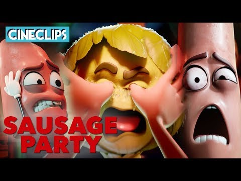 The Kitchen Massacre | Sausage Party | CineClips