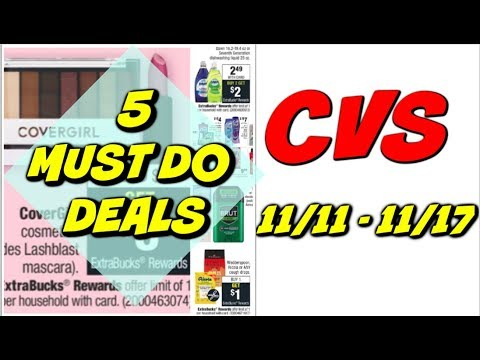 5 MUST DO CVS DEALS 11/11 - 11/17 | Free Deodorant, Makeup, Cheap Body Wash & More!