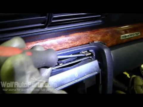 How to Remove Cup Holder – Audi A4 B5 1996-2001 (Wolf Auto Parts)