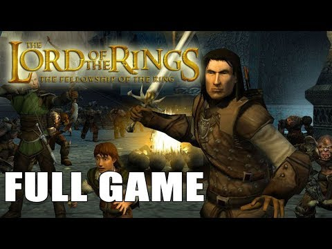 The Lord of the Rings The Fellowship of the Ring【FULL GAME】| Longplay