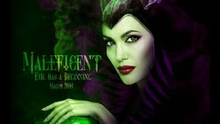 Angelina Jolie / Maleficent - Speed Art (Photoshop) | By Garson