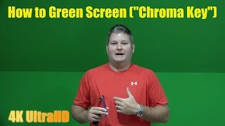How to Green Screen Step-By-Step Tutorial