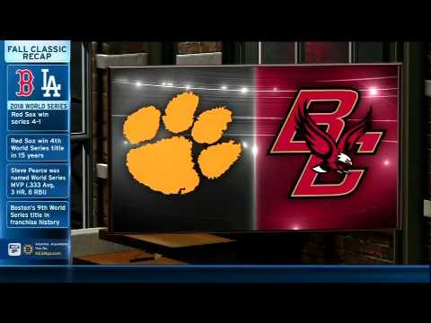 Video: Facts & Figures: Boston College hosts Clemson in primetime Saturday