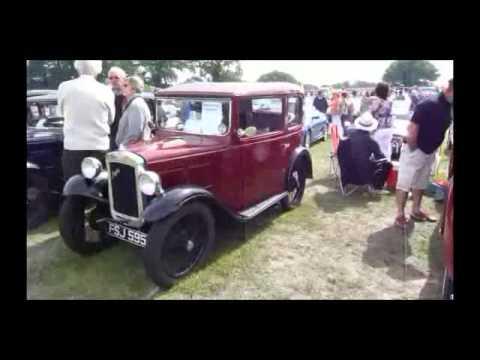 CLASSIC CAR SHOW BURY ST EDMUNDS - WALK AROUND