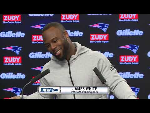 Video: James White on Patriots Bye Week and offense