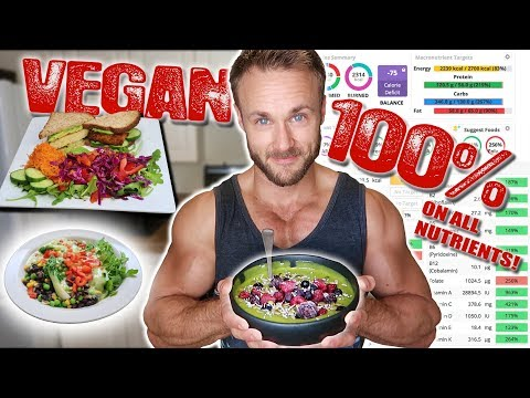 WHAT I EAT FOR COMPLETE VEGAN NUTRITION