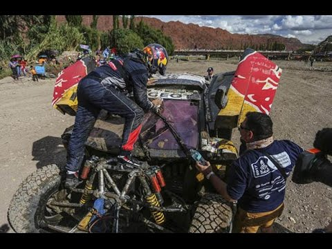 Accidente Carlos Sainz Dakar 2017 | Carlos Sainz 2017 Dakar Crash