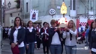 Irsina festa di sant'eufemia percorso nella parte vecchia del paese - YouTube