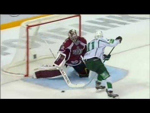 Хоккей красивые голы КХЛ (видео)
