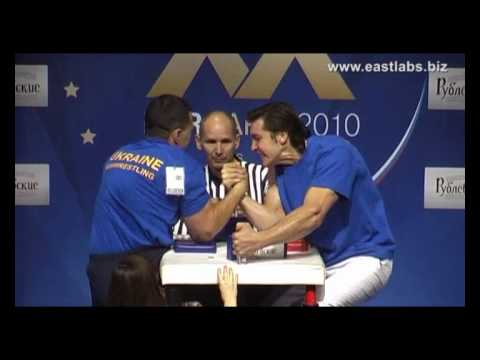 European Armwrestling Championship 2010 Finals Right hand