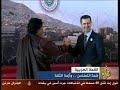 معمر القذافي يطلق النار على الزعماء العرب kadafi