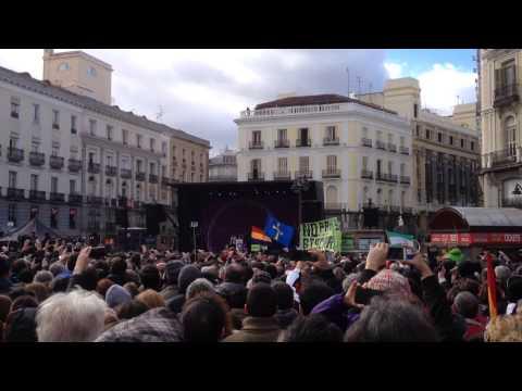 Marcha por el Cambio, Puerta del Sol, Madrid. Por Poli (8,6)